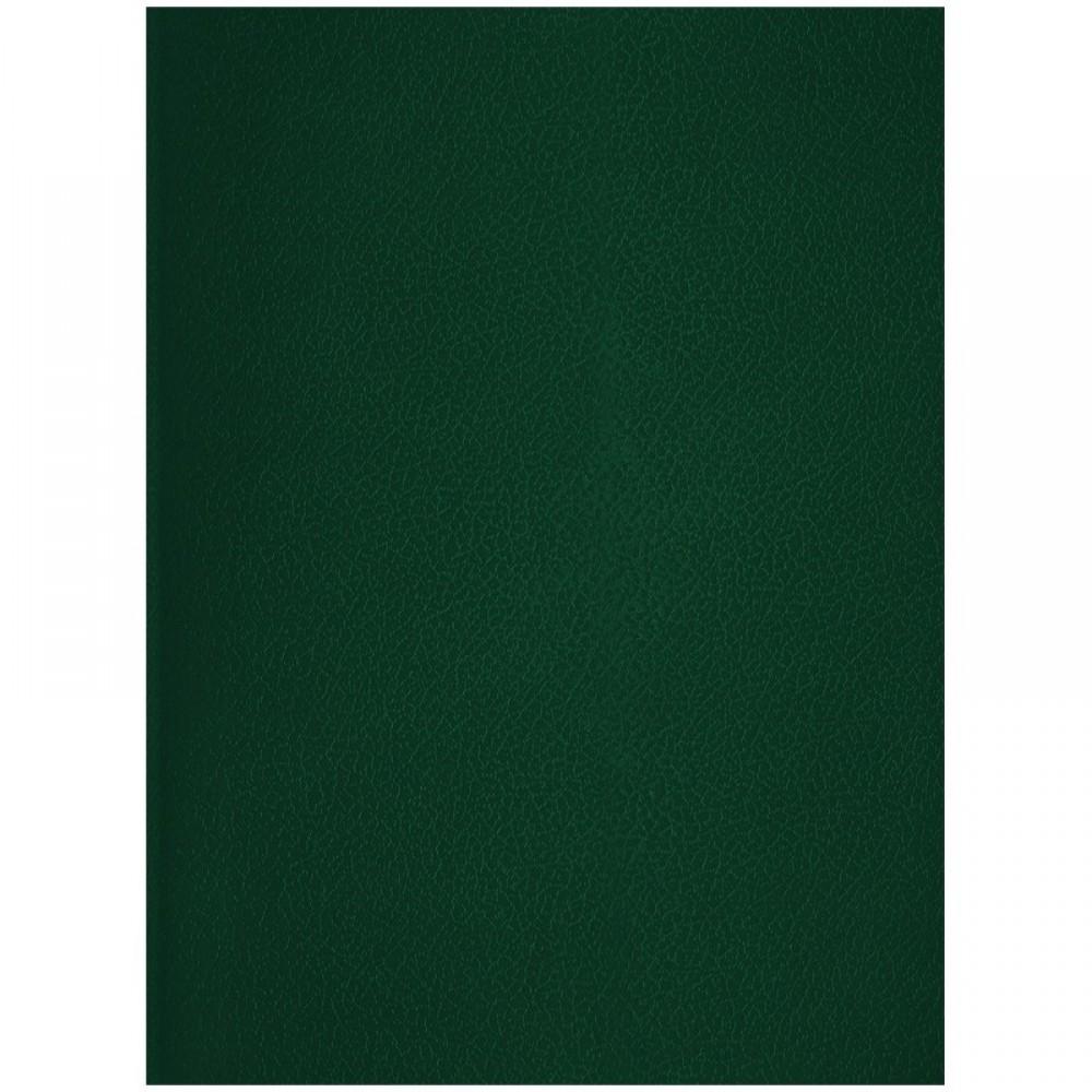 Тетрадь 96л., А4, клетка OfficeSpace, бумвинил, зеленый