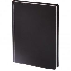 Ежедневник недатированный Attache VELVET, А5+, 136л, чёрный