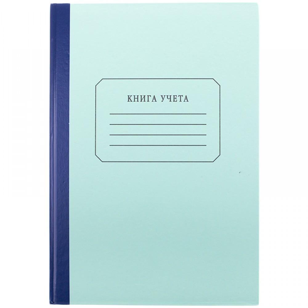 Книга учета OfficeSpace, А4, 96л., клетка, 200*290мм, твердый картон, блок газетный