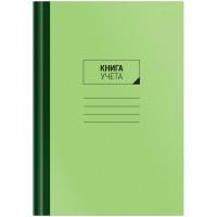 Книга учета OfficeSpace, А4, 96л., клетка, 200*290мм, твердый картон, блок офсетный