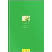 Книга учета OfficeSpace, А4, 96л., линия, 200*290мм, твердый переплет 7БЦ, блок газетный