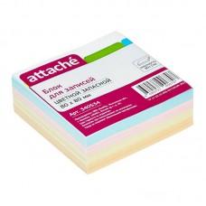 Блок для записей Attache, 8х8, 300л, цветной