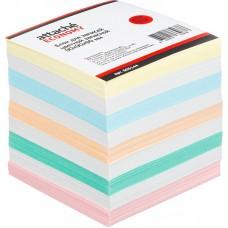 Блок для записей Attache Эконом запасной 9х9х9 цветной 60-80 г