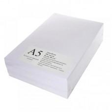 Бумага для печати, формат А5, 80 г/м2, класс B, в пачке 500 л