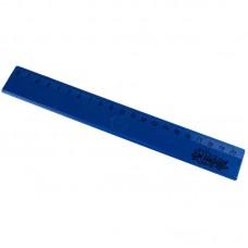 Линейка пластиковая №1 School, 20см, синяя