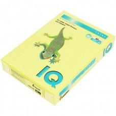 ZG34 Бумага цветная IQ COLOR, лимонно-желтый, 80 г/м2, А4, 500 л.