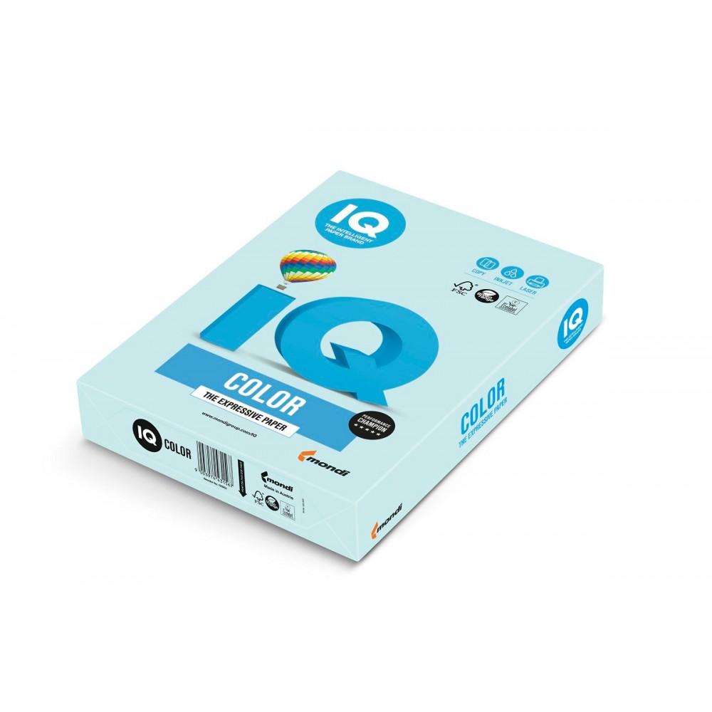 BL29 Бумага цветная IQ COLOR, светло-голубой, 80 г/м2, А4, 500 л
