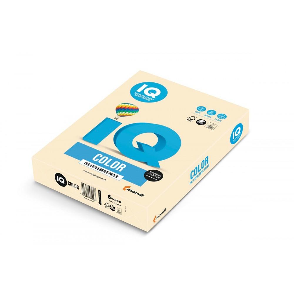CR20 Бумага цветная IQ COLOR, кремовый, 160 г/м2, А4, 250 л