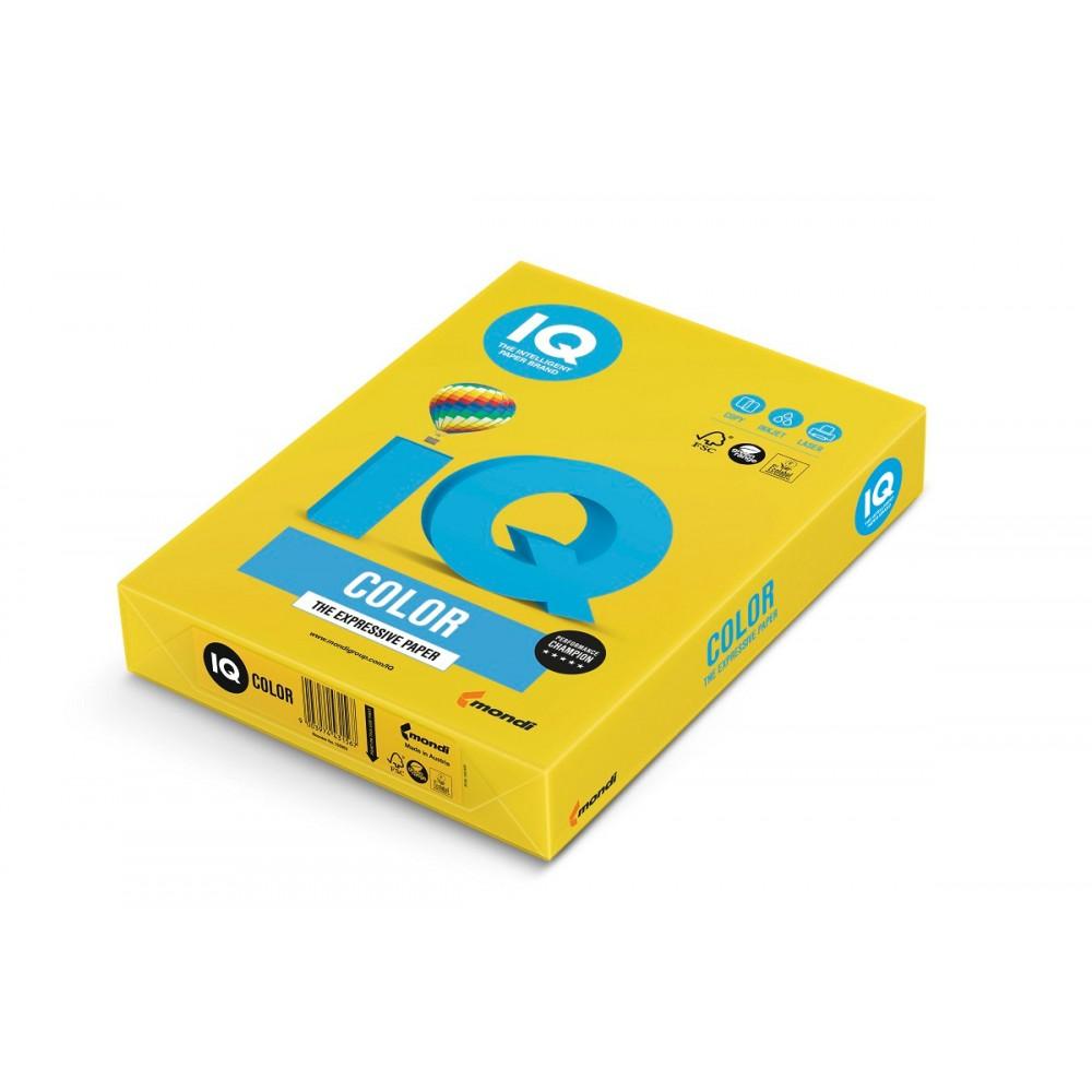 IG50 Бумага цветная IQ COLOR, горчичный, 80 г/м2, А4, 500 л