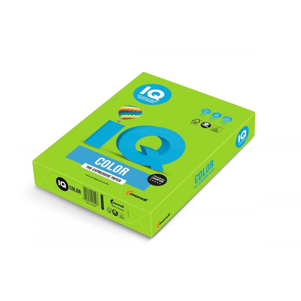 MA42 Бумага цветная IQ COLOR, ярко-зеленый, 120 г/м2, А4, 250 л