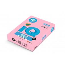 OPI-74 Бумага цветная IQ COLOR, розовый фламинго, 160 г/м2, А4, 250 л