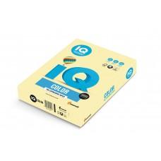YE23 Бумага цветная IQ COLOR, желтый, 80 г/м2, А4, 500 л