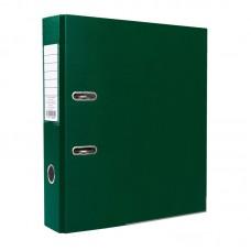 Папка-регистратор ПВХ ЭКО с металлическим уголком, А4, 50мм, темно-зелёная