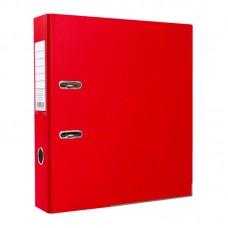 Папка-регистратор ПВХ ЭКО с металлическим уголком, А4, 50мм, красная