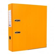 Папка-регистратор ПВХ ЭКО с металлическим уголком, А4, 50мм, оранжевая