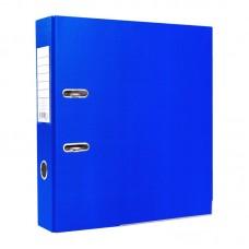 Папка-регистратор ПВХ ЭКО с металлическим уголком, А4, 50мм, синяя