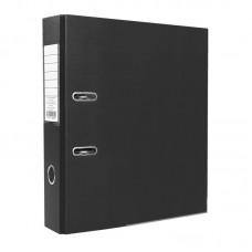 Папка-регистратор ПВХ ЭКО с металлическим уголком, А4, 50мм, чёрная