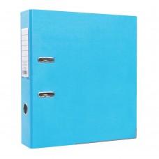 Папка-регистратор ПВХ ЭКО с металлическим уголком, А4, 50мм, светло-голубая