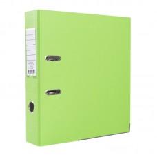 Папка-регистратор ПВХ ЭКО с металлическим уголком, А4, 50мм, светло-салатовая