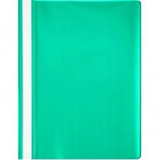 Папка-скоросшиватель пластик. с прозрачным верхом Attache, А4, 130/150мкм, зелёная