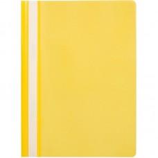 Папка-скоросшиватель пластик. Attache Economy, A4 , 110мкм, жёлтая