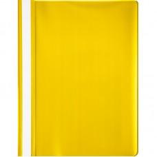 Папка-скоросшиватель пластик. Attache, A4, 130/150км, жёлтая