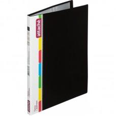 Папка с 20 вкладышами Attache, A4, 15мм, 700мкм, чёрная