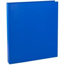 Папка на 4-х кольцах OfficeSpace, 30мм, 500мкм, синяя