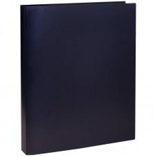Папка на 4-х кольцах OfficeSpace, 30мм, 500мкм, чёрная