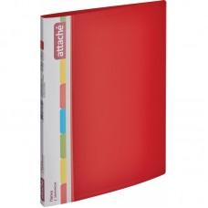 Папка с зажимом Attache F611/07 17 мм красная