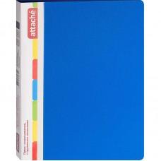 Папка с пружинным скоросшивателем Attache, А4, 17мм, 700мкм, синяя