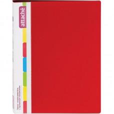 Папка с пружинным скоросшивателем Attache, А4, 17мм, 700мкм, красная