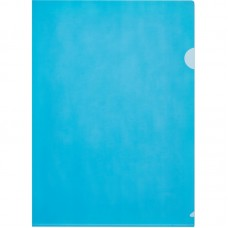 Папка-уголок пластиковая Attache Economy, A4, 100мкм, синяя