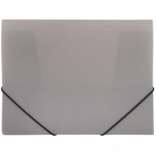Папка на резинках OfficeSpace, А4, 40мм, серая