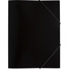 Папка на резинках Attache Economy, A4, 35мм, чёрная
