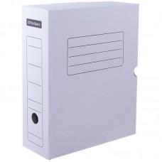 Короб архивный с клапаном OfficeSpace, микрогофрокартон, 150мм, белый, до 1400л.