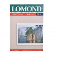 Фотобумага А4 для струйных принтеров LOMOND 180 г/м2 (50 л) глянцевая двухсторонняя