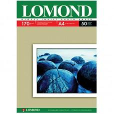 Бумага А4 для стр. принтеров Lomond, 170г/м2 (50л) гл.одн.