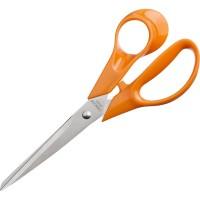 Ножницы Attache Orange 177 мм с пластиковыми эллиптическими ручками