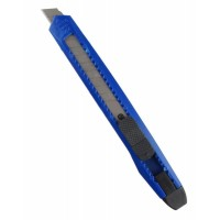 Нож канцелярский 9 мм Attache Economy с фиксатором, ассорти