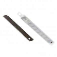 Лезвие для канцелярских ножей запасное Attache, 9мм 10шт в пластиковом пенале