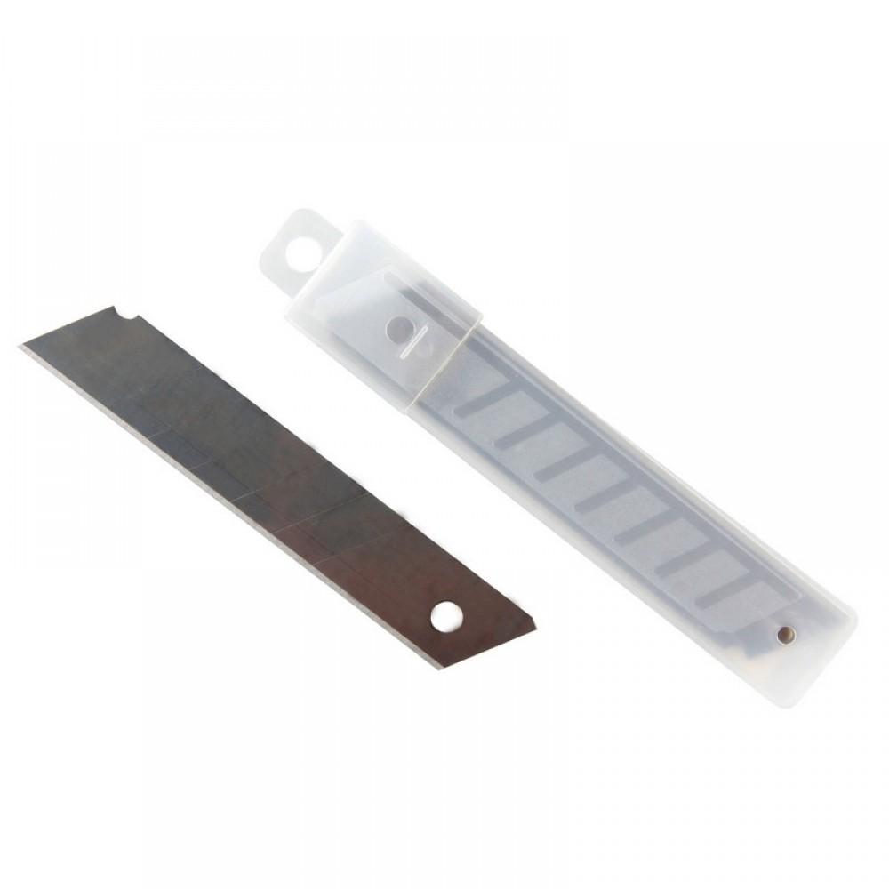Лезвие запасное для ножей эконом 18 мм 10 шт./уп. пластиковый футляр