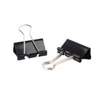 Зажимы для бумаг 32 мм Attache Economy черные 12 шт/уп, в картонной коробке