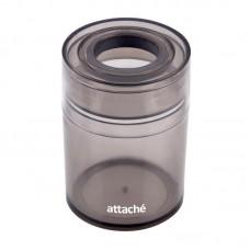 Скрепочница магнитная Attache, цвет графит