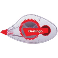 Корректирующая лента Berlingo, 5мм*8м, европодвес