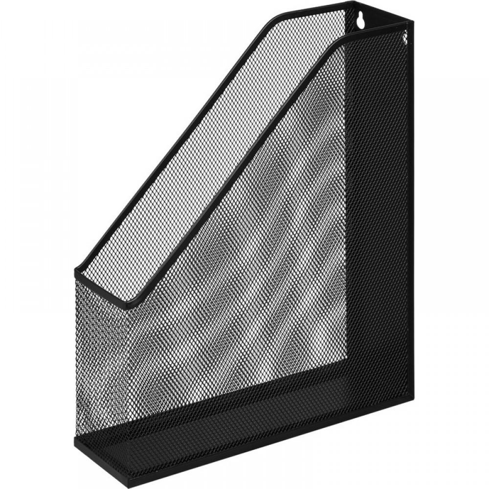 Вертикальный накопитель Attache для бумаг металл сетка, ширина 72 мм чёрный