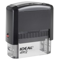 Оснастка для штампа Trodat 4912 Ideal, 47*18мм, пластик