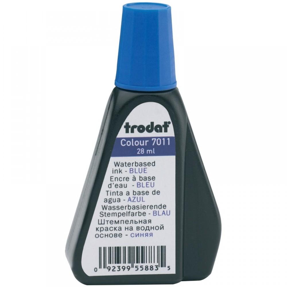 Штемпельная краска Trodat, 28 мл, синяя