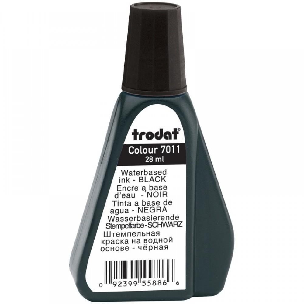 Штемпельная краска Trodat, 28мл, черная