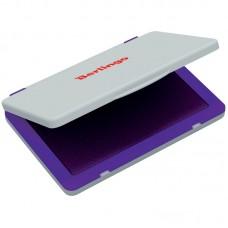 Штемпельная подушка Berlingo, 120*90мм, фиолетовая, пластиковая